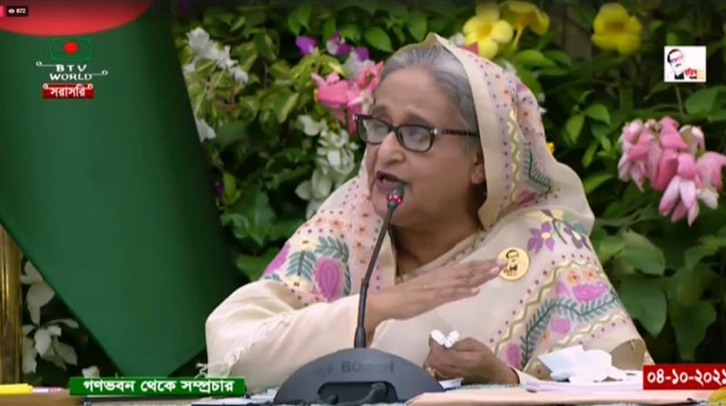রোহিঙ্গা প্রত্যাবাসনে আন্তর্জাতিক চাপ অব্যাহত থাকবে: প্রধানমন্ত্রী